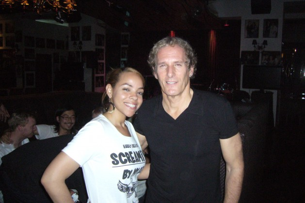 Yezika and Michael Bolton