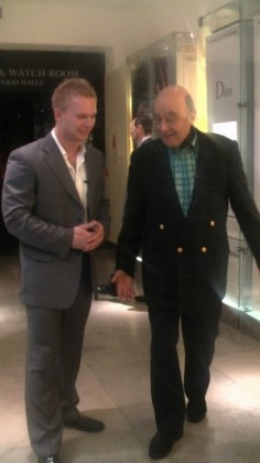 Mr. Al- Fayed was NOT intimidated at all...